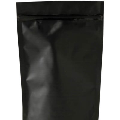 Matte black w/zipper