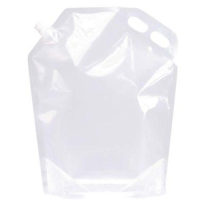 Transparent w/spout and handle