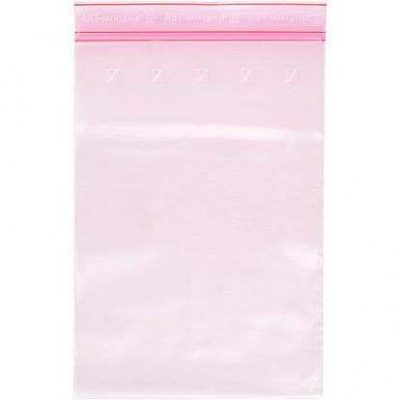 Minigrip® zipperbags pink antistatic